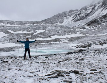 Cerro Del Medio - Laguna Margot no Pico do Cerro