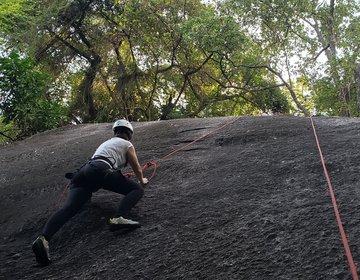 A primeira escalada a gente nunca esquece