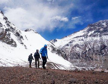 Cerro Bonete 5.050 Metros de Altitude   Aconcágua