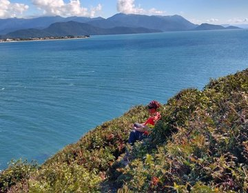 Floripa - Treeking - Extremo Sul - Praia e Farol Naufragados