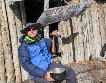 Lago Windhond - o trekking mais austral do Mochilão Sabático