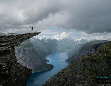 Trolltunga - Trekking na Noruega