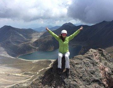 Hiking no vulcão Nevado de Toluca