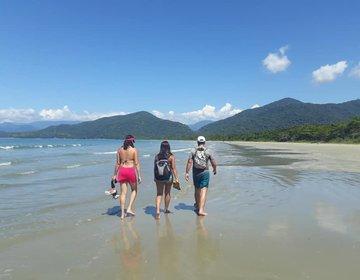TRAVESSIA PICINGUABA X PURUBA: (10 praias em Ubatuba-SP)