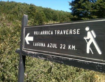 Parte da Villarrica Traverse