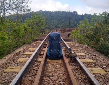Travessia Ferrovia do Trigo - 42 km pelos trilhos