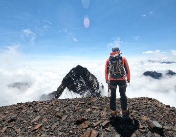 Pequeño Alpamayo  5.410 metros de altitud