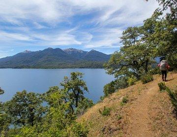 96 km entre lagos NONTHUÉ, QUEÑI, ESCONDIDO e LÁCAR