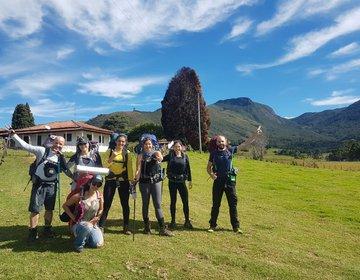 Pico Santo Agostinho + Cachoeira da Fragária
