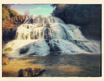 Cachoeira no rio Congonhas, Santo Antonio do Paraizo - PR