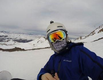 Snowboard no Valle Nevado - Chile