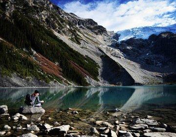 Explorando Joffre Lakes (Verão)