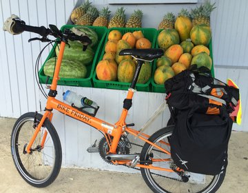 Bike Touring around Puerto Rico Island