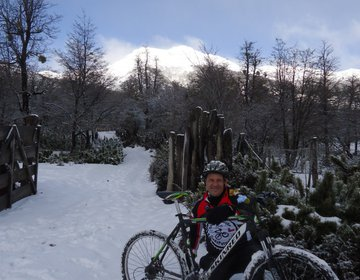 Cicloturismo na Patagonia Argentina e Chilena
