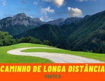 Caminho de Longa distância na Eslovênia - Parte 5