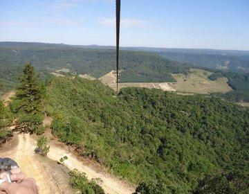 Tirolesa K 2000 - A maior tirolesa do Brasil