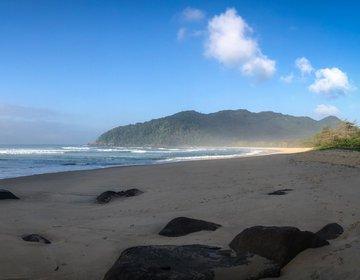 Longboard Surf | Praia Brava de Camburi Ubatuba