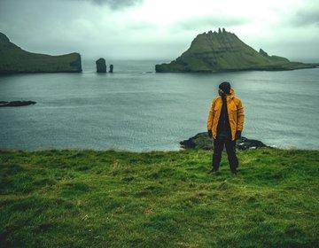 Quase morte - Drangarnir - Ilhas Faroé
