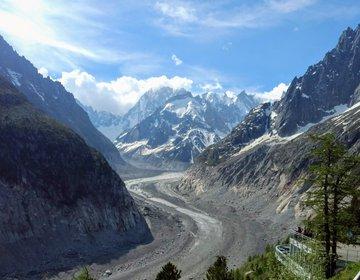 Travessia dos Alpes: Mer de Glace - Vallé Blanche