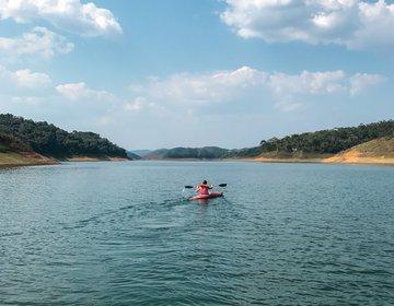 Caiaque e Stand Up Paddle na Represa de Paraibuna