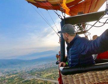 Balão Em Teotihuacan - México