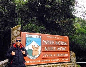 Trilha Parque Nacional Alerce Andino - Chile