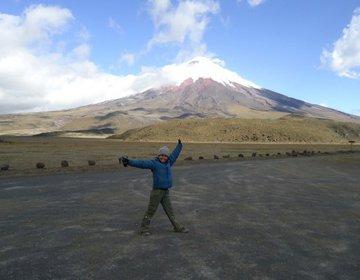 Subindo o Vulcão Cotopaxi (só até o Refúgio!) no Equador