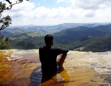 Trilha no Parque Estadual Ibitipoca, em MG