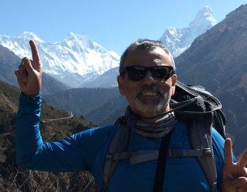 Trekking campo base do Everest