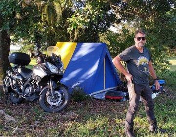 Moto Acampamento Em Mucuri Ba