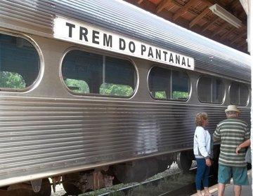 Viajando no Trem do Pantanal - Set/12