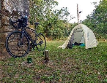 Bikepacking no litoral de SC