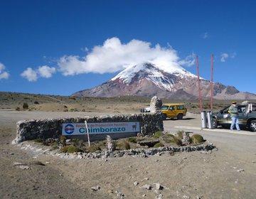 Equador Avenida dos Vulcões- 1º Chimborazo