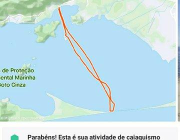 Ida E Volta Até a RESTINGA da Marambaia - 42 KM
