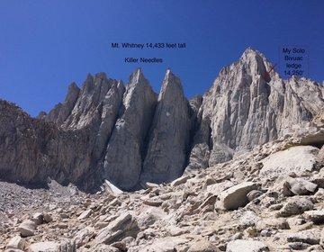 Solo Mt Whitney Bivouac