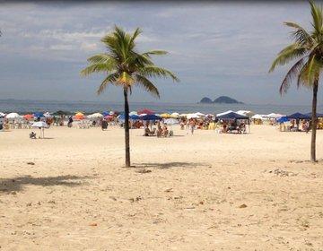 Curtindo o Feriado nas Praias de Guarujá