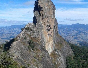 Escalada na Pedra do Baú