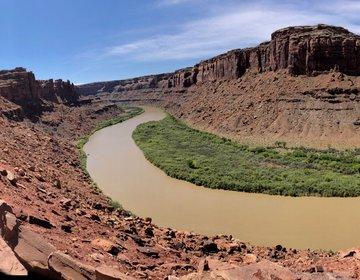 Viagem de kayak no Green River, Utah