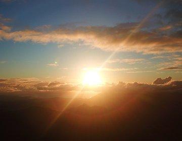 Amanhecer no Pico do Tabuleiro