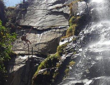 Aventura Catarata Huanano en San Jerónimo de Surco