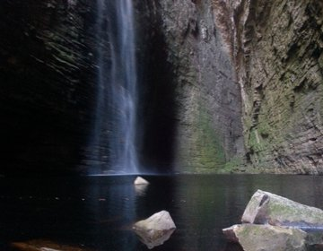 Cachoeira da Fumacinha - Ibicoara-Bahia