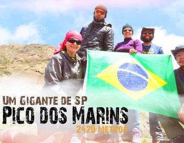 Pico dos Marins -  2420 metros