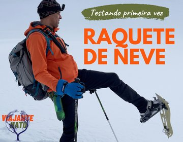 Caminhada Na Neve - Raquete De Neve